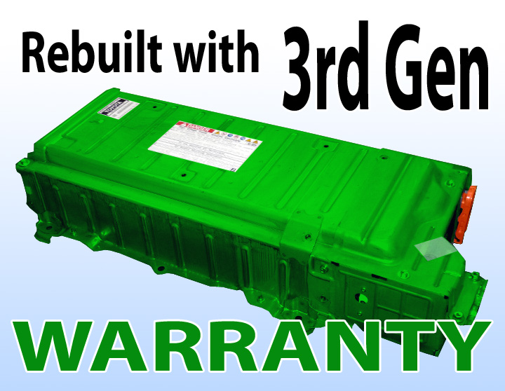 Toyota Prius Hybrid Battery 3rd Generation 2017 To Rebuild 2004 09 2 Years Warranty